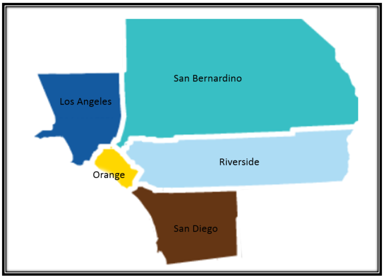 Areas Serviced: Los Angeles County, Orange County, Riverside County, San Diego County and partial San Bernardino County